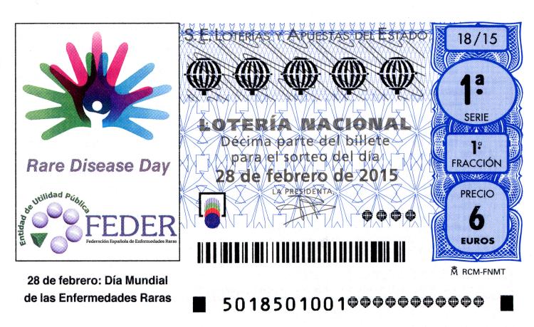 Lotería Nacional, sorteo de lotería nacional 28 de febrero de 2015