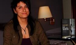Mado Martínez, autora de la novela 'La Santa'.