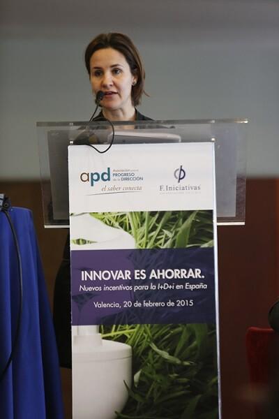 María Corominas directora general de F  Iniciativas I D+i.