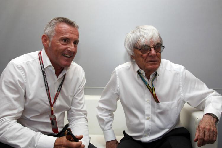 Marcello Lotti & Bernie Ecclestone
