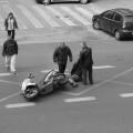 Momentos después de producirse el accidente. (Foto-Valencia Noticias)
