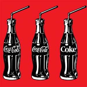 Otra de las imágenes que publicitan los 100 de la botella.