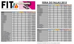 PRECIOS FALLAS 2015