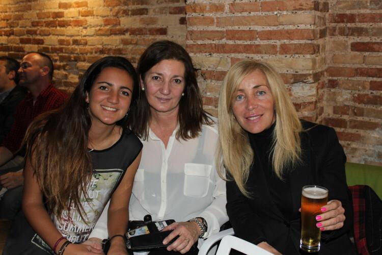 Paula Pastor, Ana Mir, Sonsoles Hurtado