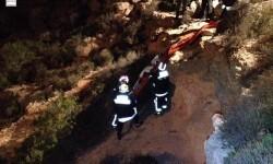 Peñiscola, Bomberos finalizan el rescate del cuerpo sin vida de un varón en torre Badum (3)