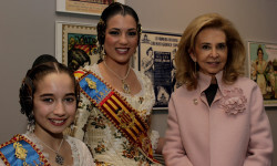 Rafael Solaz exposición Falles de cartó Falleras Mayores Estefanía López Montesinos María Donderis Sanchis (19)