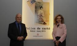 Rafael Solaz exposición Falles de cartó Falleras Mayores Estefanía López Montesinos María Donderis Sanchis (3)