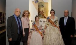 Rafael Solaz exposición Falles de cartó Falleras Mayores Estefanía López Montesinos María Donderis Sanchis (7)