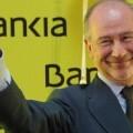 Rodrigo Rato el día que Bankia salía a Bolsa. (Foto-Agencias)