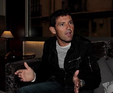 Rubén Figueres durante un pasaje de su entrevista para El Péndulo. (Foto-Valencia Noticias)