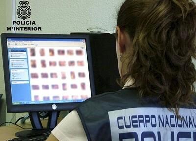 Seguimiento por internet de la pornografía infantil. (Foto.P.N.)