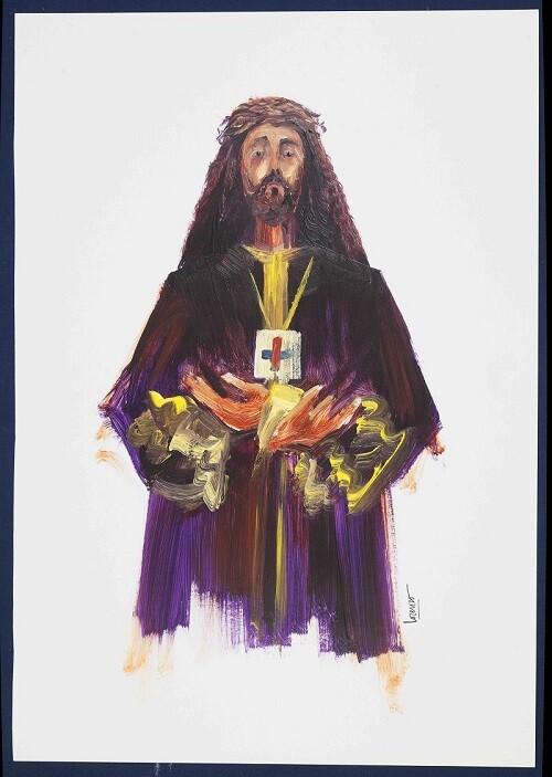 Semana Santa del Cristo de Medinaceli de Castellón ilustrado por el artista Lorenzo Ramírez.