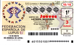 Sorteo del jueves de Lotería Lacional