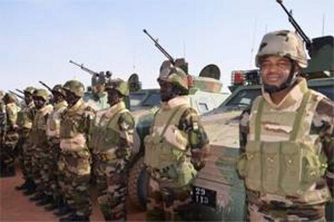 Tropas del Chad se unen a la fuerza multinacional. (Foto-Archivo)