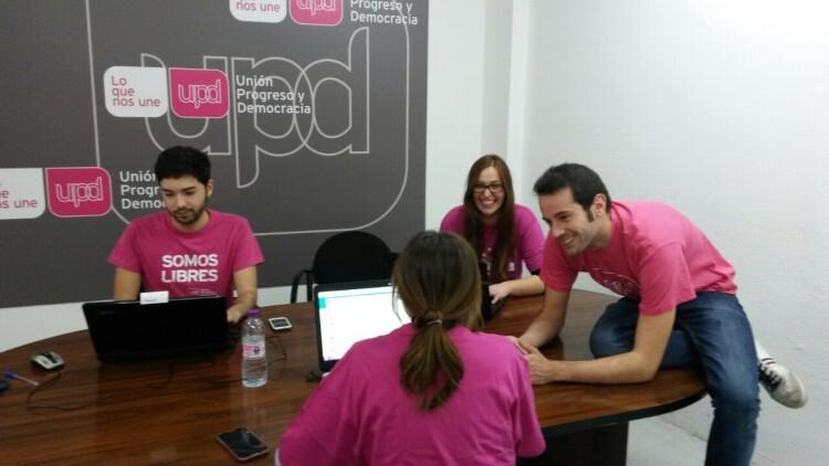 UPyD equipo voluntarios