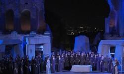 Un montaje de la ópera 'Norma'.