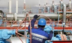 Un operario trabajando en una planta de gas. (Foto-exchanger.md)