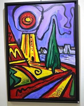 Una de las obras de Zapata que podrán verse en la exposición.