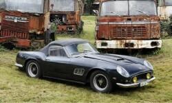 Una ferrari de Alain Delon es el auto más caro vendido en una subasta (1)