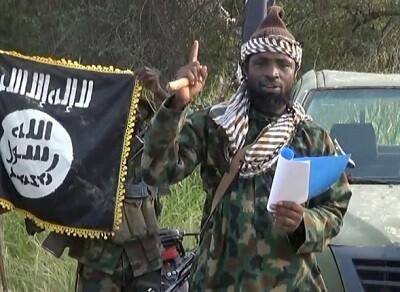 Uno de los miembros de Boko Haram en un vídeo de la organización terrorista. (Foto-Archivo)