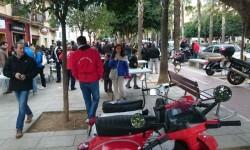 Ves'pa la Falla, Sagunt-Sant Guillem reúne cerca de 300 Vespas y Lambrettas en la cuarta concentración (30)
