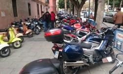 Ves'pa la Falla, Sagunt-Sant Guillem reúne cerca de 300 Vespas y Lambrettas en la cuarta concentración (8)