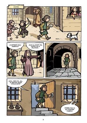 Viñetas interiores del cómic.