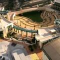 Vista aérea de parte de los exteriores de la Ciudad de la Luz en Alicante. (Foto-Archivo)