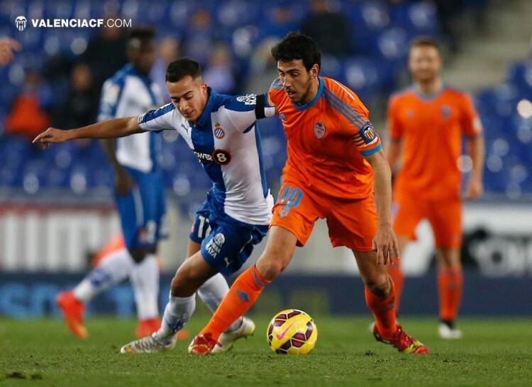 Dani Parejo, autor del segundo gol, sigue aumentando su mejor marca en el Valencia CF. Foto: VCF