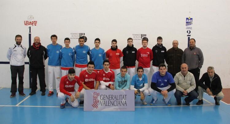 Finalistas juveniles de los JECV de galotxa 2015