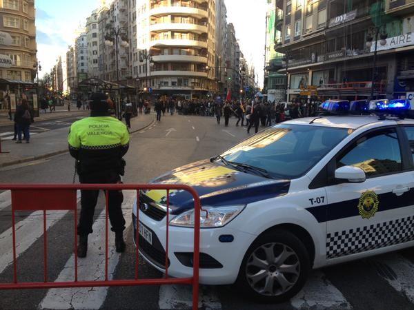 manifestación valencia 'Crida per l'escola que volem