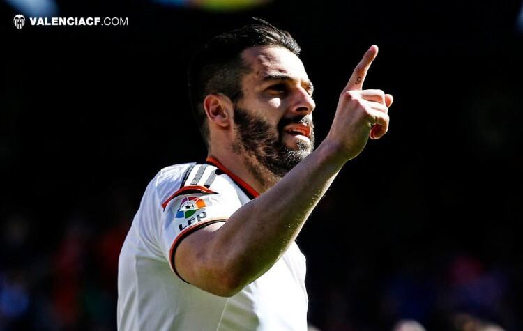 Mestalla respiraba aliviado cuando Negredo cumplia brillantemente con el trámite de los once metros y adelantaba al Valencia CF.