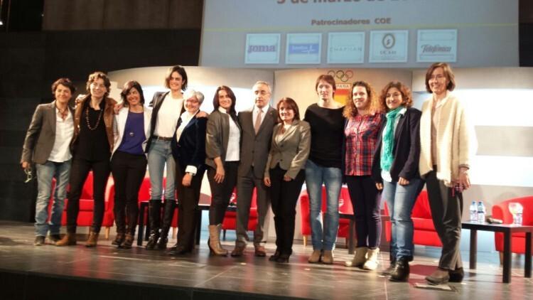 2015-03-06 Jornadas mujer y deporte del COE. FOTO 1