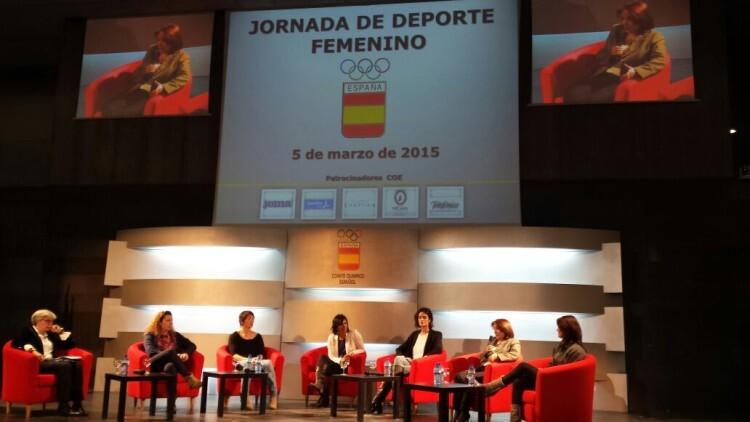 2015-03-06 Jornadas mujer y deporte del COE. FOTO 2