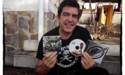 Alfredo Piedrafita en una imagen promocional del grupo Miss Octubre.