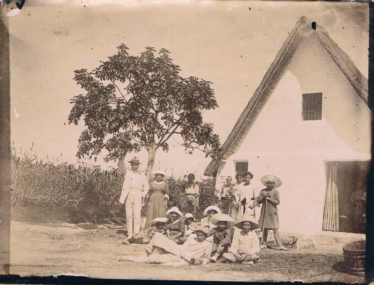 Barraca en Algirós. Ca. 1915. A. P. R. S.