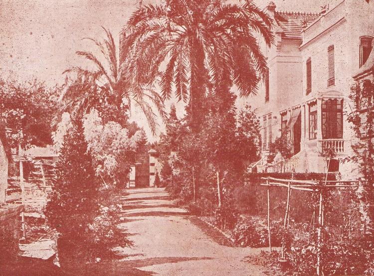 Camino de Algirós. Casa Horticultura Beyrat. 1930. A. P. R. S.