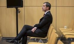 Carlos Crespo en un sesión del juzgado. (Foto-Agencias)