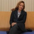 Carolina Punset en la sede de C's de la ciudad de Valencia.