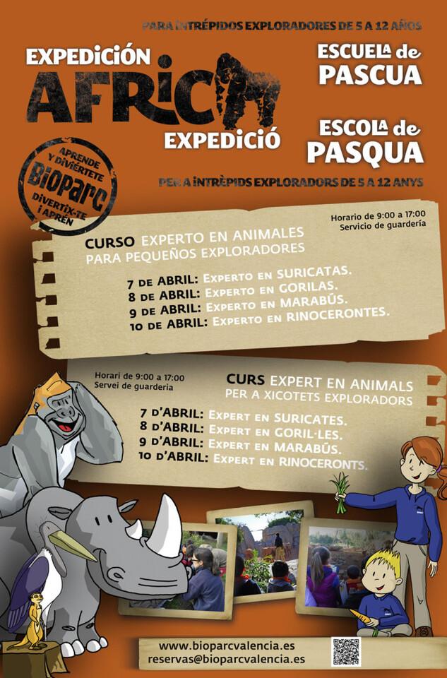 EXPEDICIÓN ÁFRICA PASCUA 2015 - ESCUELA DE VACACIONES DE BIOPARC VALENCIA - WEB (1)