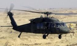 El Blackhawk es un helicóptero de guerra utilizado por las fuerzas militares norteamericanas.