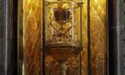 El Santo Grial expuesto en Valencia.