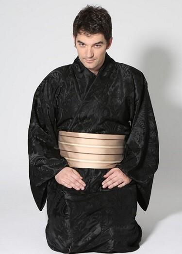 El Yukata, un modelo de kimono masculino.