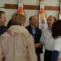 El cocinero Sebastián Romero y su equipo en la apertura del Casal Amstel.