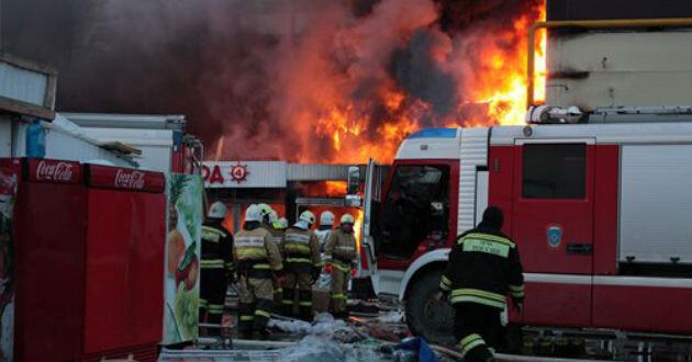 El fuego  se provocó a 720 kilómetros al este de Moscú.