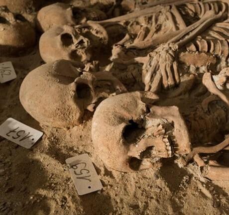 El lugar del hallazgo fue un cementerio perteneciente a un hospital demolido a finales del siglo XVIII.