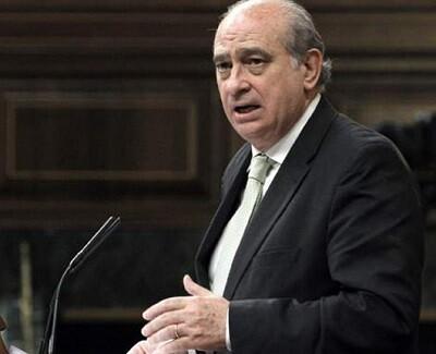 El ministro Jorge Fernández Díaz se desplazó a la zona afectada.