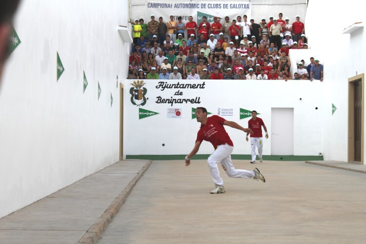 Emilio de Sollana, este año jugador del Foios