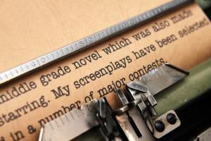 Escritura de un guión.
