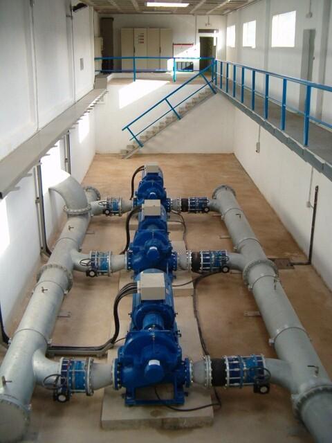 Estación de Bombeo de agua potable